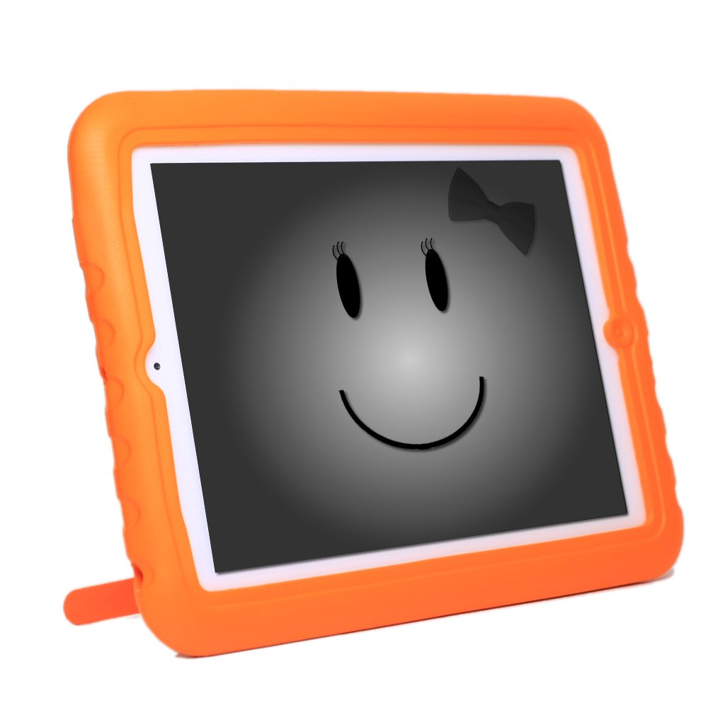 KaysCase KidBox Cover Case for Apple iPad2, iPad 3 - the new iPad (Orange)