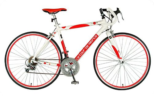 Tour de France Stage One Polka Dot Road Bike (Red/White, 700C X 56-cm)