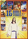 16 New and Old Testament Bible Stories for the Whole Family - Over 7 Hours on 2 DVDs - Includes Bonus Children's Sing-a-long CD (Jesus Cover)