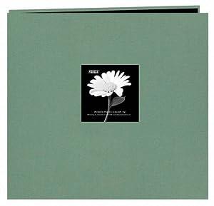 Pioneer 12-Inch by 12-Inch Fabric Frame Scrapbook, Aqua