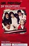 One Direction Valentines Includes 1 Poster 35 Stickers and 32 Valentines