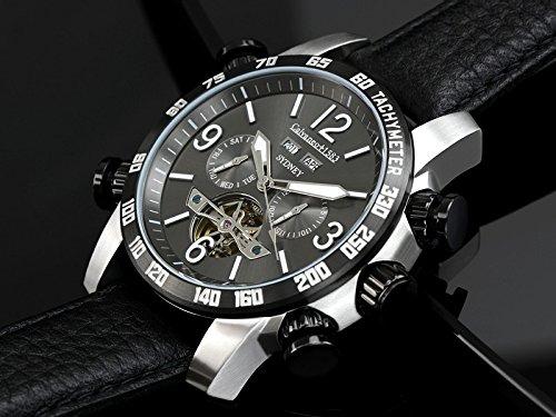 Calvaneo 12544 - Reloj , correa de cuero color negro