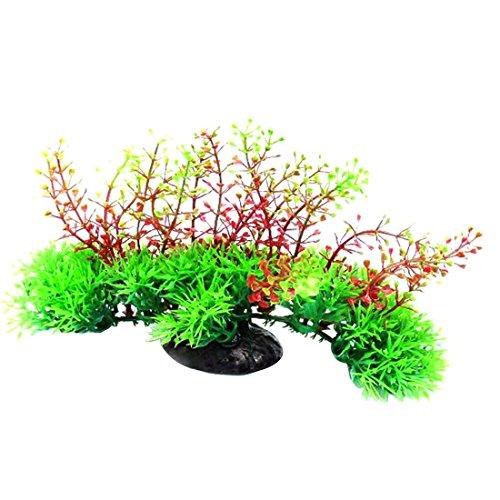 Plante fleurs artificiel herbe ornement pour aquarium fish for Plante herbe haute
