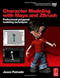 img - for Character Modeling with Maya and ZBrush: Professional polygonal modeling techniques by Patnode, Jason (2008) Paperback book / textbook / text book