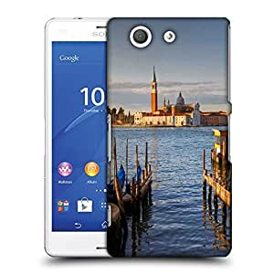 Snoogg Palace In Lake Designer Protective Phone Back Case Cover For SONY XPERIA Z3 COMPACT