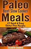 img - for Paleo Beef Slow Cooker Meals: 27 Quick & Easy Gluten-Free Recipes book / textbook / text book