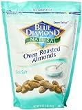 Blue Diamond Almonds, Oven Roast Sea Salt, 16 Ounce