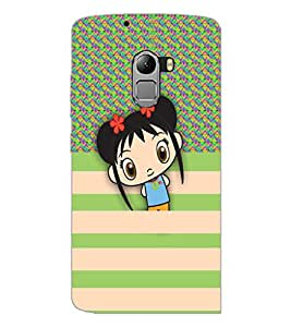 PrintDhaba Cartoon D-3327 Back Case Cover for LENOVO VIBE X3 LITE (Multi-Coloured)