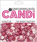 Craftwork Cards Candi Dot Embellishments .35oz-passionista 3 Pack
