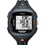Timex Unisex T5K744 Ironman Run Trainer 2.0 GPS Speed+Distance Black/Orange Watch