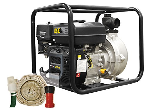 "Be Pressure Hpfk-2070R 2"" Fire Fighting Pump Kit, 7 Hp, 126 Gpm front-334667"