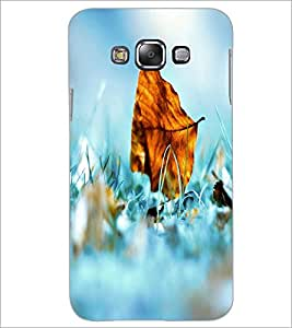 PrintDhaba Leaf D-2401 Back Case Cover for SAMSUNG GALAXY A8 (Multi-Coloured)