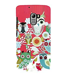 Owl tree Back Case Cover for Lenovo K4 note