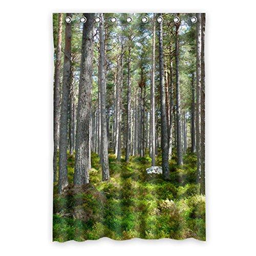straucher-in-wald-natur-landschaft-duschvorhang-polyester-duschvorhang-120-cm-x183-cm-48-x72