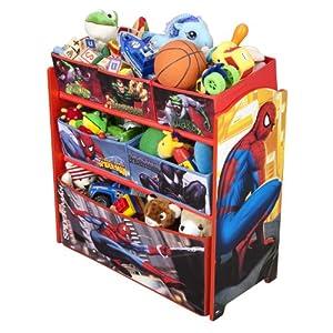 Spiderman Multi-bin Toy Organizer by Delta Enterprise