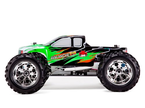 Avalanche XTR * 1/8 Scale * RC Nitro Monster Truck * By Redcat Racing :