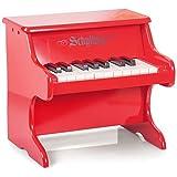 Mini Red Piano (Color: Red)