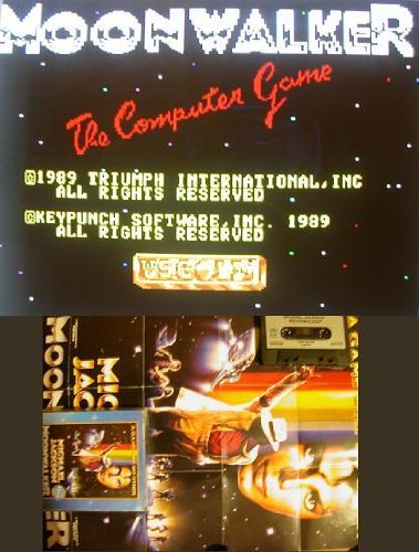 Moonwalker: The Computer Game