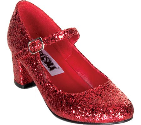 Funtasma By Pleaser Women'S Schoolgirl-50 Mary Jane,Red Glitter,9 M Us