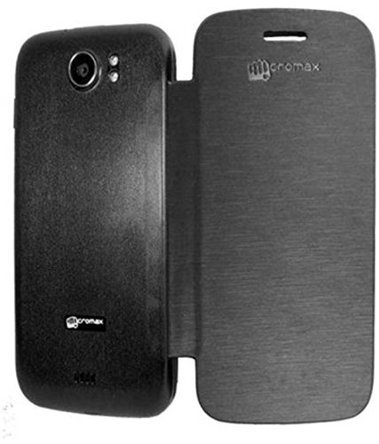 Micromax Canvas 2 A110 Flip Cover Back Case Cover by DRaX®  available at amazon for Rs.139
