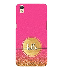 EPICCASE Hello Mobile Back Case Cover For OPPO A37 (Designer Case)