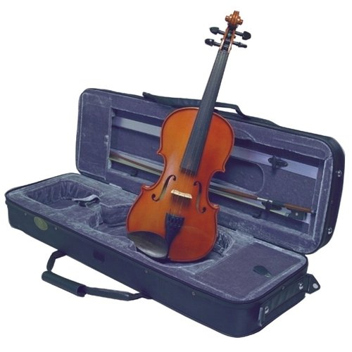 Musino 3000 Series Violin Outifts Vn3044 Electric Violin, Amber