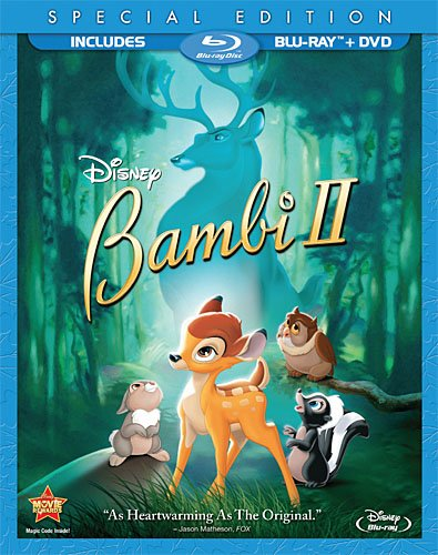 Cover art for  Bambi II (Two-Disc Special Edition Blu-ray / DVD Combo in Blu-ray Packaging)