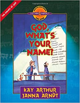 God, What's Your Name? (Discover 4 Yourself Inductive Bible Studies
