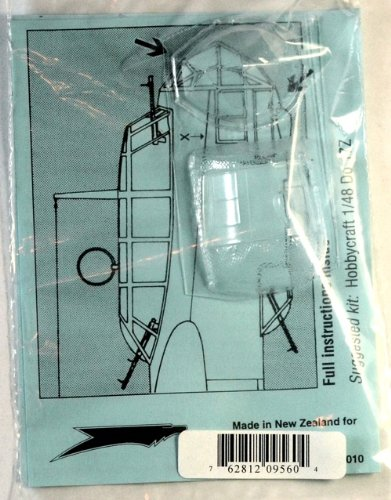 Squadron Products  Dornier Do 17Z Vacuform Canopy #2