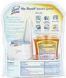 Lysol No-Touch Kitchen System Dish Soap Dispenser Starter Kit, Tangerine, 8.5 Ounce