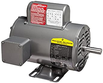 Baldor L1309a General Purpose Ac Motor Single Phase 56