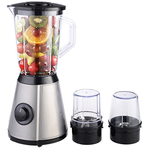 Costzon 3in1 Electric Blender Mixer Chopper Grinder Multi Function Food Fruit Processor (Multifunctional Blender compare prices)