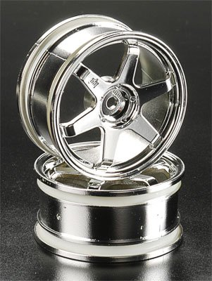 HPI Racing Te37 Wheel 26mm Chrome 0mm Offset (2)