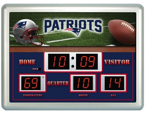 Patriots Scoreboard Clocks New England Patriots