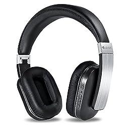 AudioMX ワイヤレスヘッドホン マイク内蔵 密閉式Bluetoothステレオヘッドフォン HB-8A(20時間連続稼動)
