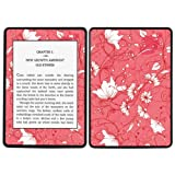 Diabloskinz Vinyl Adhesive Skin Decal Sticker for Amazon Kindle Paperwhite - Red Flower
