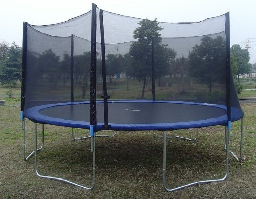 Exacme-16-6W-Legs-Trampoline-with-Safety-Pad-Enclosure-Net-Ladder-All-in-One-Combo-Set-T16