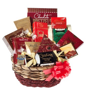 ULTIMATE CHOCOLATE LOVER - Gift Chocolate Basket
