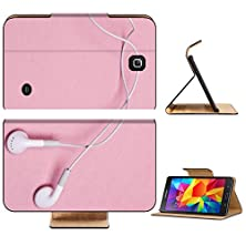 buy Liili Premium Samsung Galaxy Tab 4 7.0 Inch Flip Pu Leather Wallet Case White Headphones On A Pink Background Photo 6679868 Simple Snap Carrying