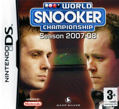 WORLD SNOOKER CHAMPIONSHIP SAISON 2007/2008 / JEU