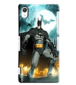Omnam Beautiful Pendant Printed Designer Back Cover Case For Sony Xperia Z2