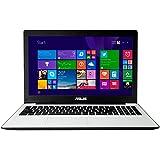 Asus F553MA-BING-SX417B 39,6 cm (15,6 Zoll) Notebook (Intel Celeron N2840, 2,2GHz, 4GB RAM, 500GB HDD, Intel HD Grafik, DVD, Win 8.1) weiß