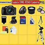 Panasonic Lumix DMC-FZ40 Digital Camera + SSE Pro