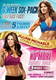 Jillian Michaels - Six Week Six-Pack / No More Trouble Zones DVD Set - 2 Discs
