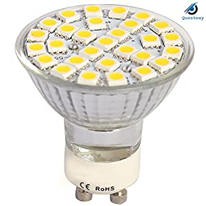 GU10 48 29 60 SMD Warm White 10Pack by QUESTWAY