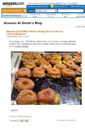 Amazon's Al Dente Blog