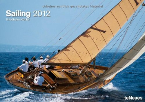 2012 Sailing 42 x 29.7 Calendar