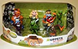 Muppets Most Wanted 7 Figure Playset, Kermit, Miss Piggy, Fozzie, Gonzo, Animal and Walter by Disney