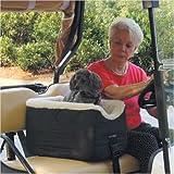 Snoozer Lookout Pet Golf Cart Seat, Small, Khaki Vinyl