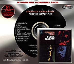 Super Session (Hybrid Multichannel SACD) by Audio Fidelity